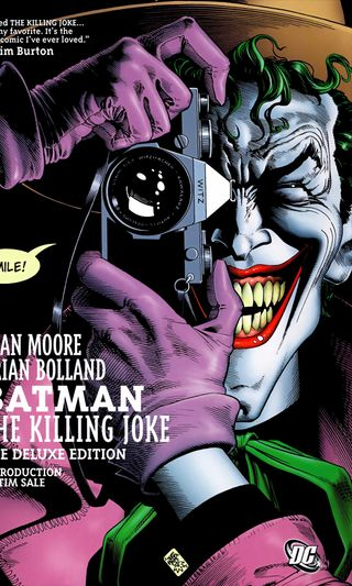 Обои на телефон шутка, обложка, комиксы, джокер, бэтмен, killing joke cover, killing, guason, dc
