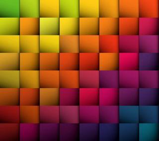 Обои на телефон кубы, цветные, фон, радуга, красочные, абстрактные
