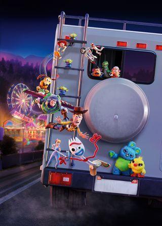 Обои на телефон hd, toy story 4, фильмы, история, игрушка, пиксар