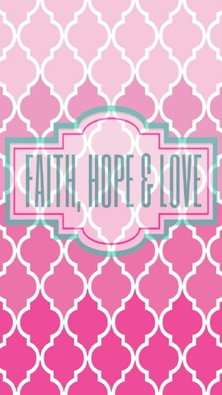 Обои на телефон вера, цитата, розовые, надежда, любовь, love