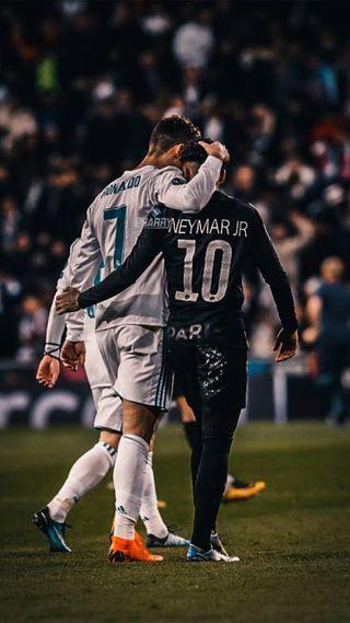 Обои на телефон криштиану, футбол, неймар, neymar y cr7