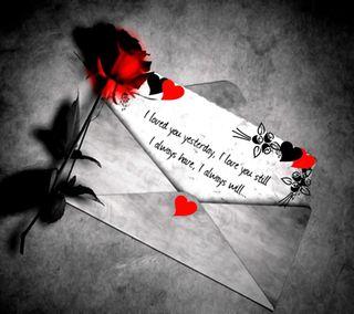 Обои на телефон сообщение, сердце, розы, навсегда, любовь, буквы, love letter, love, felings
