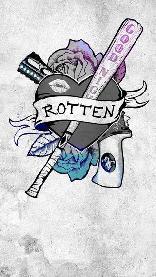 Обои на телефон харли, сердце, самоубийца, отряд, оружие, логотипы, куинн, комиксы, dc