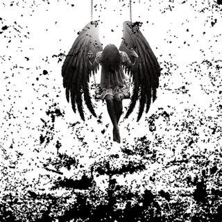 Обои на телефон упавший, тьма, темные, жуткие, демон, ангел, satanic, fallen angel, angel of darkness