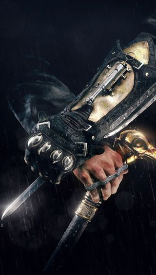 Обои на телефон скрытый, меч, крид, клинок, ассасин, cane