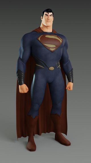 Обои на телефон анимация, фильмы, супермен, стальные, мультфильмы, герой, dc