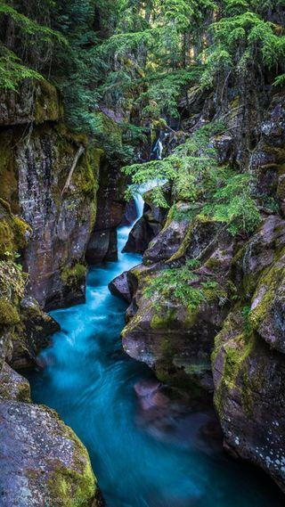 Обои на телефон река, природа