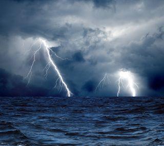 Обои на телефон шторм, море, hd