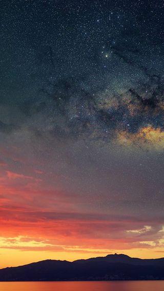 Обои на телефон прекрасные, ночь, небо, wow, sky at night
