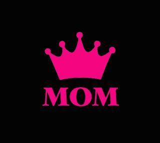 Обои на телефон семья, розовые, мама, корона