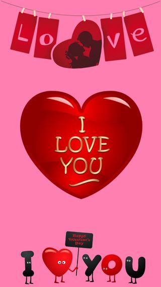 Обои на телефон специальные, ты, сломанный, сердце, розовые, любовь, валентинка, love