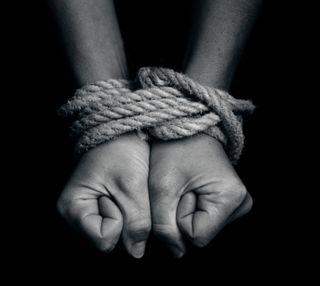 Обои на телефон руки, веревка, bondage