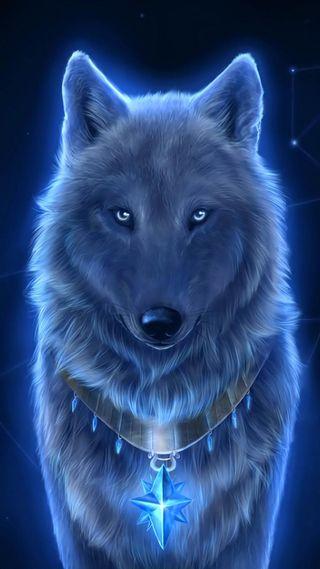 Обои на телефон волк, lupo, icio