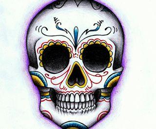 Обои на телефон конфеты, череп, дизайн, арт, skull candy, art