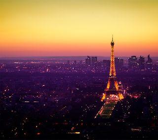 Обои на телефон франция, париж, природа, пейзаж