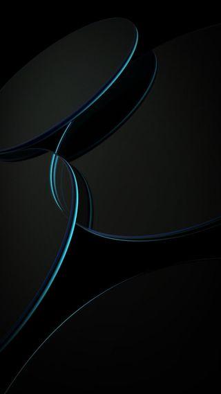Обои на телефон премиум, черные, фиолетовые, ультра, темные, синие, неоновые, красивый, абстрактные, hd