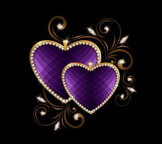 Обои на телефон love, luxury, luxury hearts, любовь, сердце, валентинка, роскошные, бриллиант, блестящий