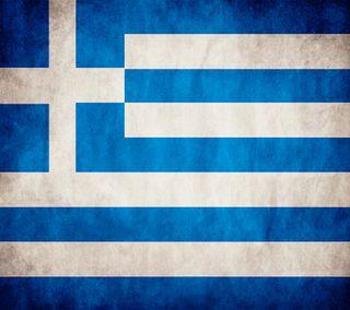 Обои на телефон страна, флаг, синие, греческий, греция, белые