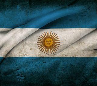 Обои на телефон аргентина, флаг, приятные