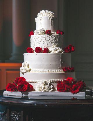 Обои на телефон торт, свадьба, розы
