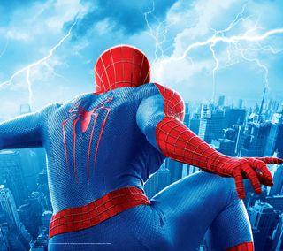 Обои на телефон удивительные, паук, spider man, amazing spider-man, 2014