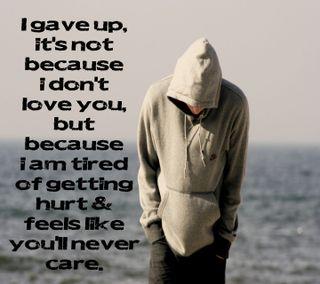 Обои на телефон эмо, ты, одиночество, одинокий, грустные, сердце, любовь, love, i love you, i gave up