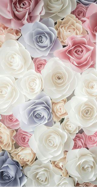 Обои на телефон винтаж, цветы, розы, розовые