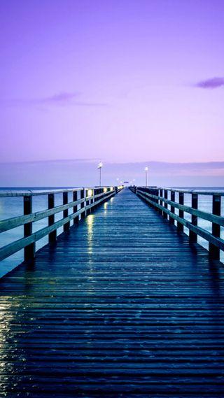 Обои на телефон океан, приятные, природа, новый, небо, море, красочные, естественные, wharf, hd