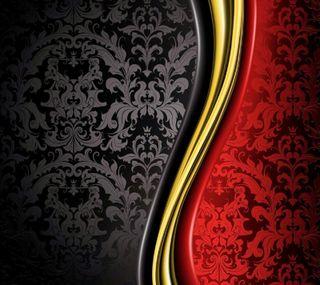 Обои на телефон роскошные, черные, красые, luxury