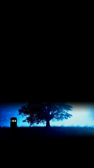 Обои на телефон тардис, доктор, синие, луна, кто, коробка, tardis on moonlight, blue box