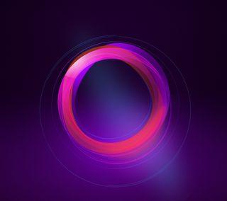 Обои на телефон отверстие, круги, фиолетовые, розовые, абстрактные