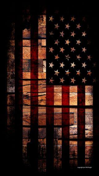 Обои на телефон американские, флаг, дерево, америка, merica