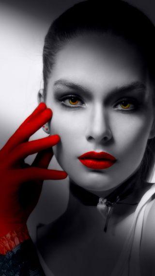 Обои на телефон женщины, цветные, фантазия, серые, магия, леди, красые, классные, айфон 5, classy magic colors