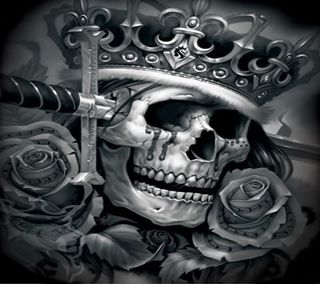 Обои на телефон деньги, череп, техас, самоубийца, розы, меч, корона, король, арт, абстрактные, suicide king, latino, art