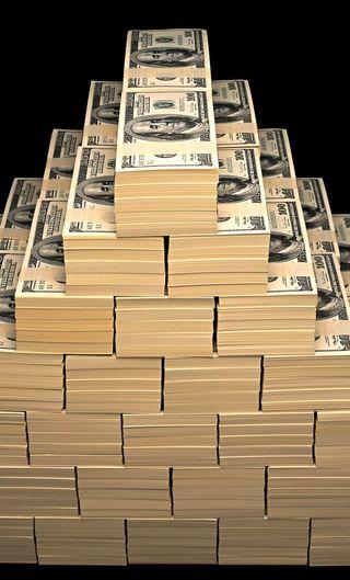 Обои на телефон доллары, деньги, fortune