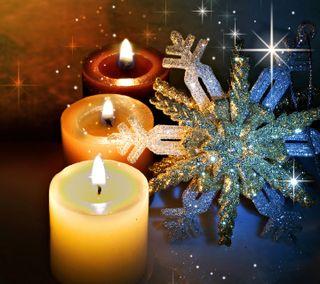 Обои на телефон свеча, счастливые, счастливое, рождество, новый, год, happy