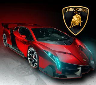 Обои на телефон lamborghini, синие, красые, машины, авто, ламборгини, светящиеся