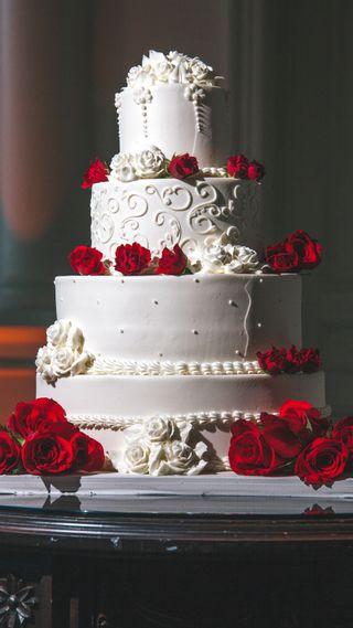 Обои на телефон торт, цветы, день рождения, cakes