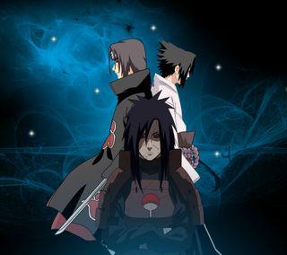Обои на телефон uchiha clan, аниме, наруто, саске, учиха, итачи, мадара, клан