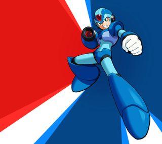 Обои на телефон синие, оружие, огонь, классика, zero, sigma, megamanx-08, megaman x, capcom, 2013