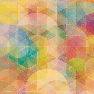 Обои на телефон геометрические, цветные, формы, фон, космос