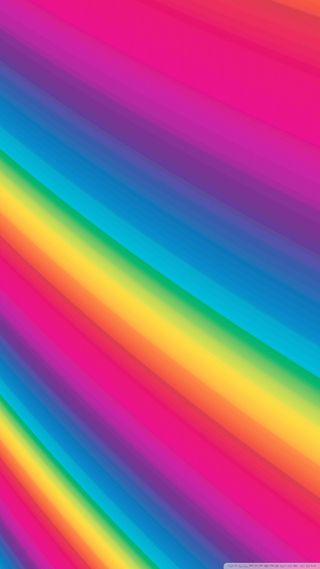 Обои на телефон радуга, красочные