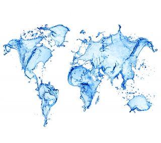 Обои на телефон карта, мир, вода, абстрактные, world map, water map, water abstract