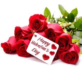 Обои на телефон валентинка, сердце, романтика, розы, любовь, день, love