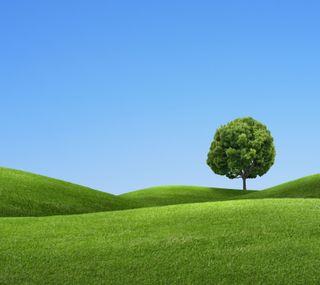 Обои на телефон холмы, зеленые, green hills