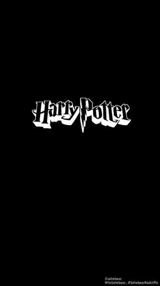 Обои на телефон поттер, черные, минималистичные, логотипы, гарри, амолед, hd, harry potter black w, amoled