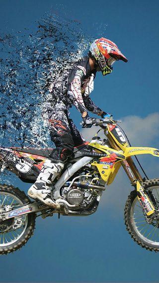 Обои на телефон мотоциклы, крест, stunt, cross spettaclo