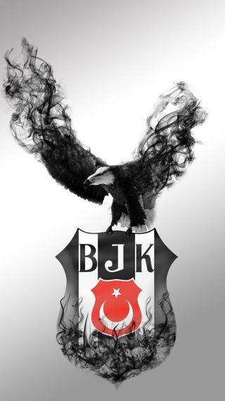 Обои на телефон футбольные, футбол, турецкие, картал, дым, бесикташ, duman, bjk