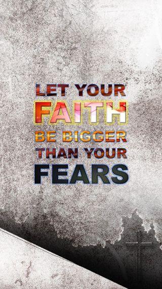 Обои на телефон вера, христианские, библия, faith bigger