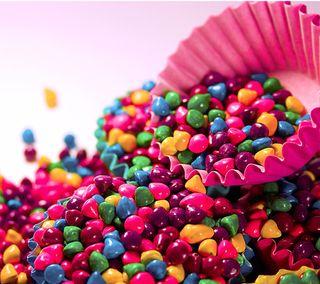 Обои на телефон сладости, конфеты, камни, абстрактные